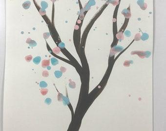Pink Blue Tree WESH