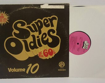 Super Oldies Of The 60's Volume 10 Vinyl Record Various Artist
