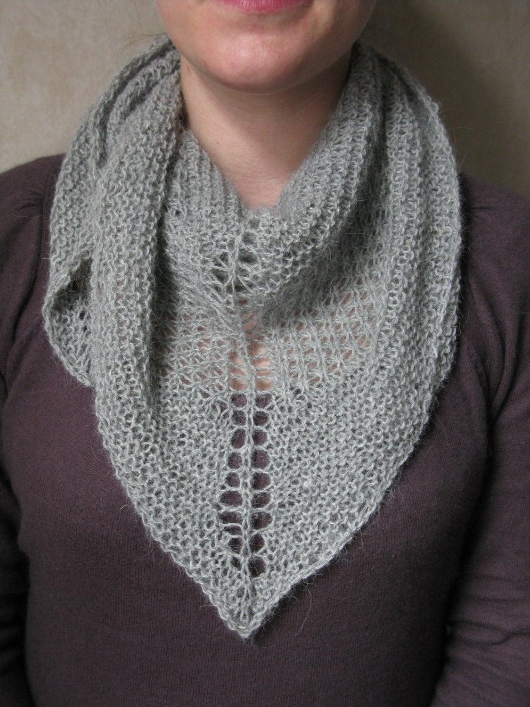 KNITTING PATTERN Star Stitch Shawl Pdf / Shawl Knitting Pattern ...