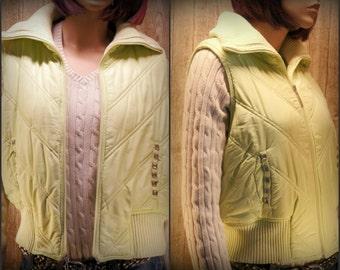 Puffer Vest, ski vest, women vest, teen vest, size XL   #9