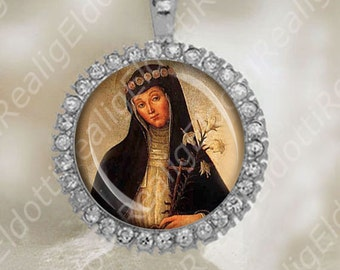 Blessed Colomba of Rieti Italian Sister Catholic Medal Religious Jewelry