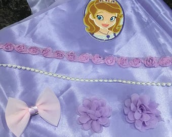Princess Sofia sewing kit