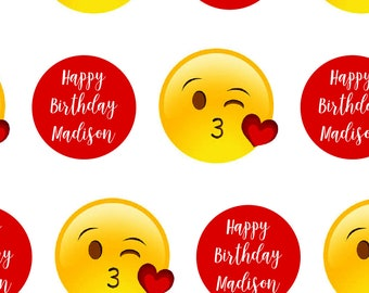 Personalized Emoji Wrapping Paper