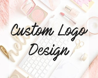 CUSTOM LOGO DESIGN   Fully Custom   5* Reviews!