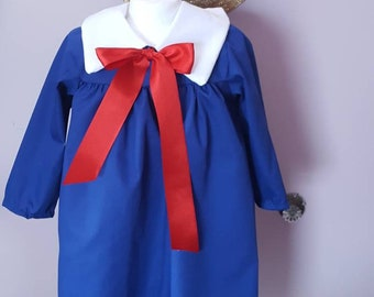 Madeline Toddler Costume Dress and Hat