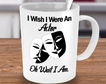 Comedy Tragedy ~ Gift for Drama Major ~ Drama Queen! Drama Mama ~ Theatre Gift ~ Actor Gift ~ Typography Mug! Drama Teacher Gift! Actor Gift