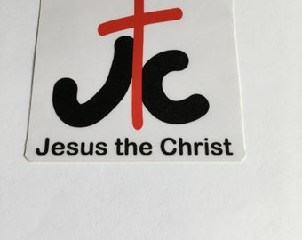 Easter Sticker with Jesus The Christ
