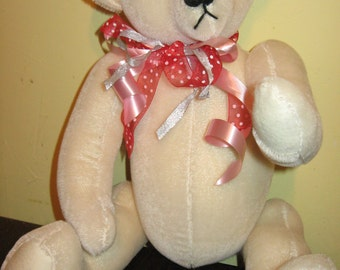 Sale Original Handcrafted Mohair Traditional Teddy Bear 21 Inches Tall