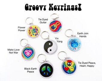 Choose 2 Keyrings from any Button or Magnet Image in my entire store Choose (2) Keychains