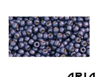 METALLIC POLARIS MATTE (PF567F): 11/o Toho Japanese Seed Beads (10 grams)