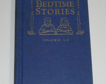 Uncle Arthur's Bedtime Stories Fifth Series by Arthur S Maxwell Volumes 5-8 Vintage Hardcover Book