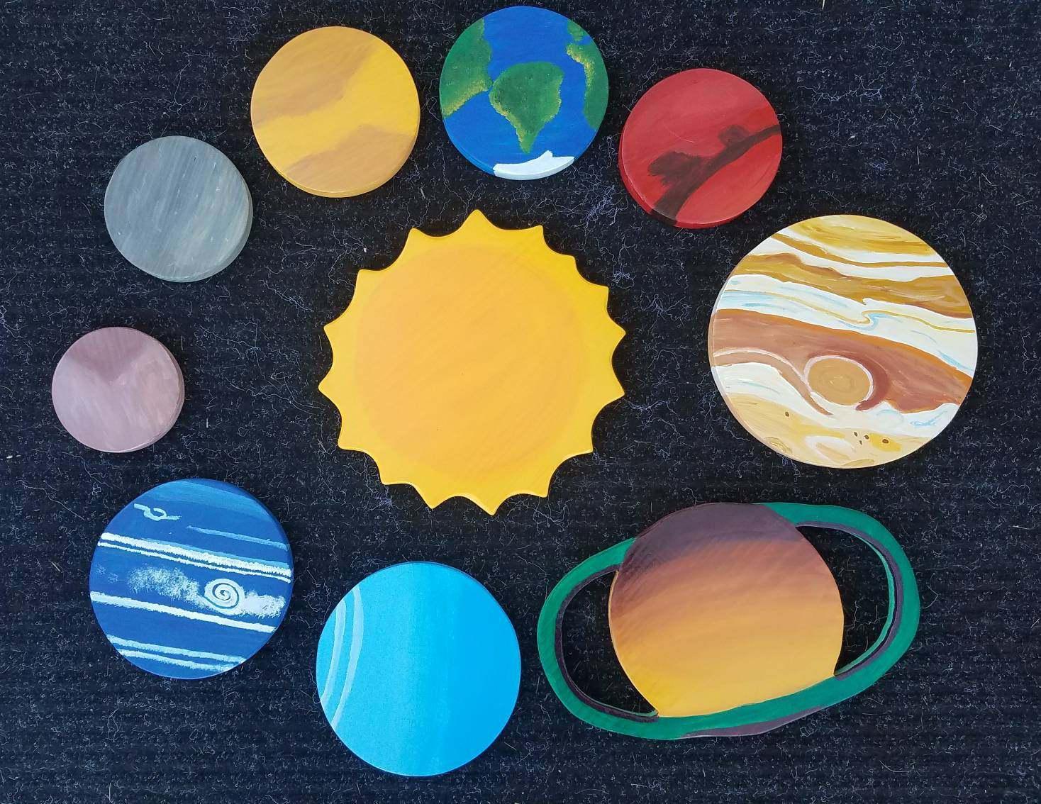 Best 3d Solar System Wall Art Decor Photos - The Wall Art ...