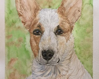 Custom Pencil & Watercolor portraits