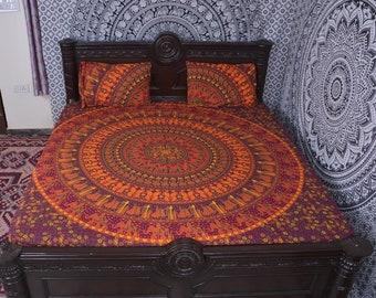 Mandala bedding, mandala tapestry, doona cover, duvet cover, quilt cover, linen