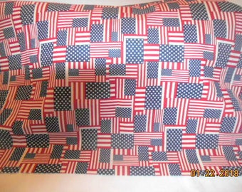 Stars and Stripes Patriotic Pillowcase