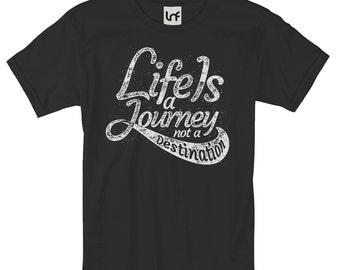 Life Is A Journey Men's T-Shirt (SB1070)