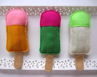 Cat toys Catnip Tropical Popsicle Catnip toy for cat gift for cat lover organic catnip toy unique cat toy cute cat toy handmade cat toy