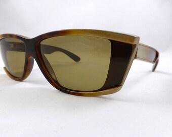 1980s Sunglasses, Vintage Sunglasses, Unisex, 80s