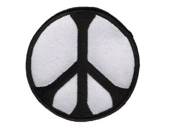Peace Sign Patch - World Peace (Iron on)