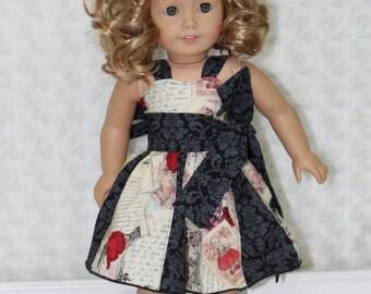 Gwen's Sweetheart Godet Dress Doll Sizes PDF Pattern
