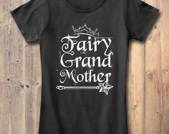 Fairy Grand Mother T-shirt Grandma Gift