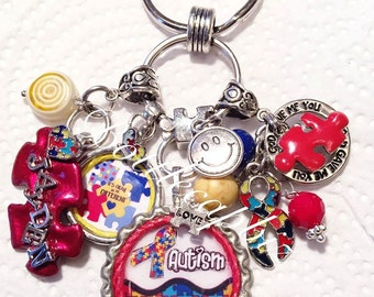 Autism Awareness Keychain/Pursecharm