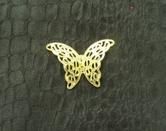 Acrylic Butterfly gold or silver 3 X 3 CM