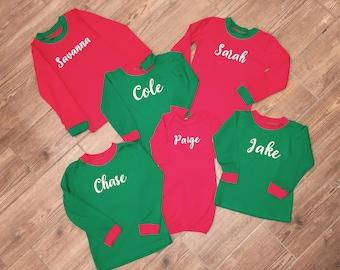 Personalized Christmas Pajamas