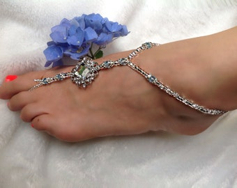 Wedding/Beach Barefoot Jewelry  Style: Elegance