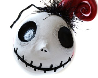 Christmas Ornament - Jack Ornament - Spooky Christmas - Spooky Ornament - Made to Order