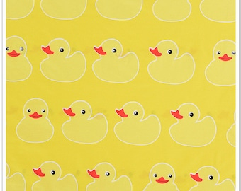 1 x coupon 50x235cm sewing patchwork fabric at the bottom yellow yellow duckling
