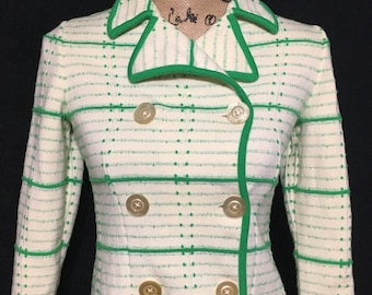 Vintage 1970's Button sweater