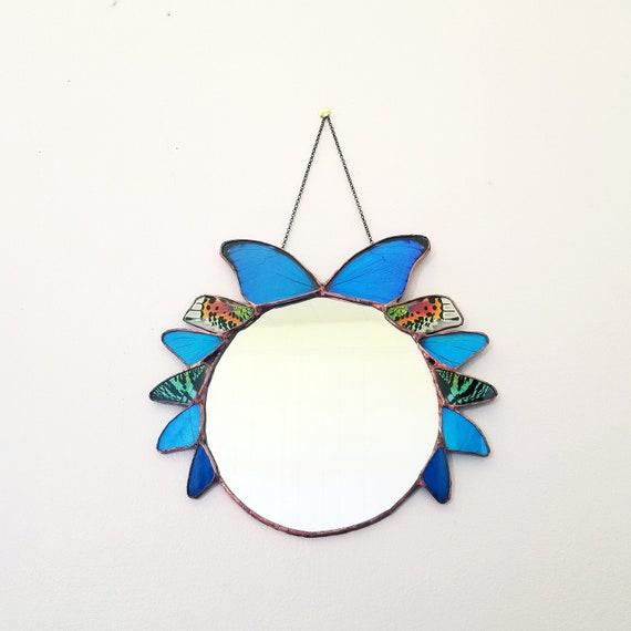 Mirror / Wall Hanging / Butterfly Wall Art / Door Art / Home Decor