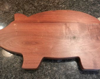 Pig Shaped Serving Trays