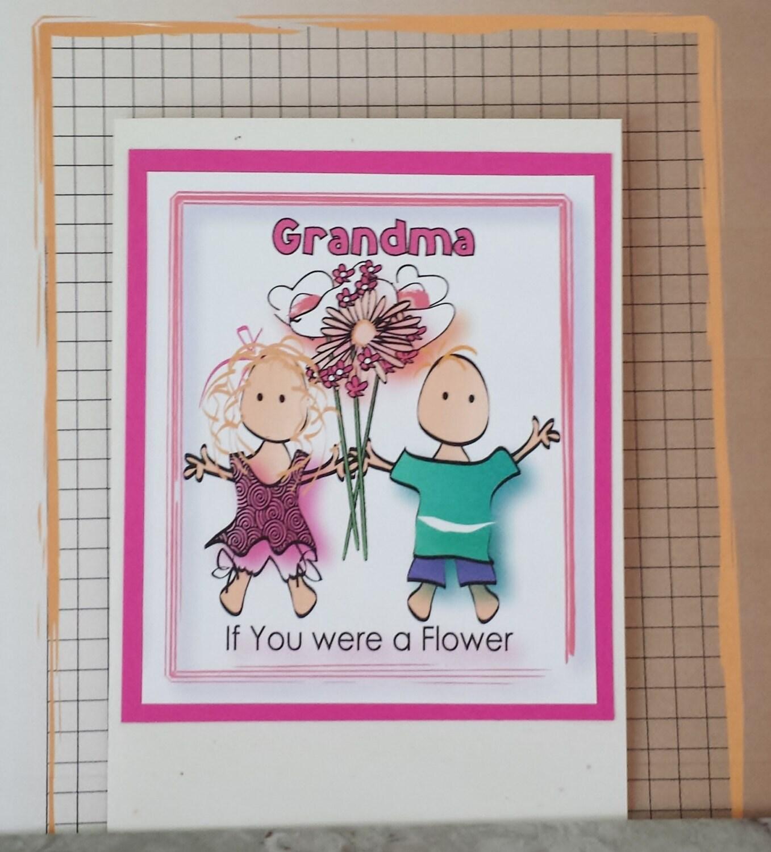 Grandma Birthday Card Cute Birthday Card For Grandmother