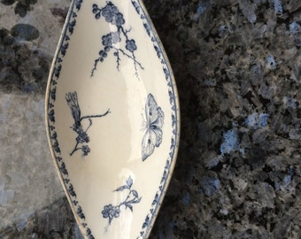 Carmen Terre de Fer, stylish, porcelain from Lorraine, beautifully, from the 1890 he years,