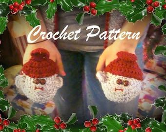 Sock Monkey hat with Matching Scarf crochet pattern pdf 517
