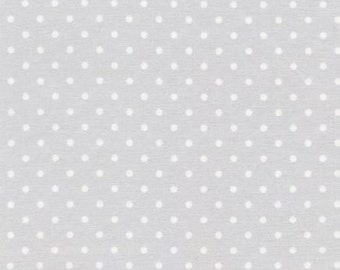 Timeless Treasures - Polka Dot Basic - Dove