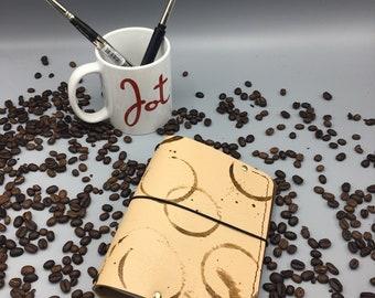 Creative Fuel (A6-CF-02) - JournalJot (A6) - Leather Traveler's Notebook/Fauxdori