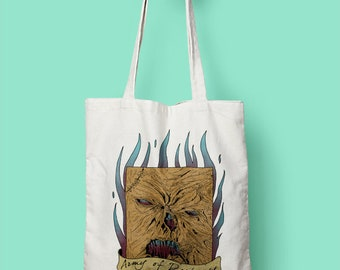 NECRONOMICON || Shopping Bag designed by us, with love.