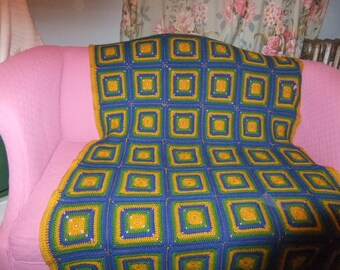 Beautiful Hand Knitted Afghan