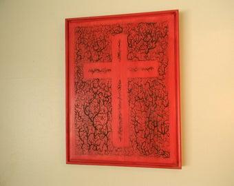 Christian, rustic, wood wall art