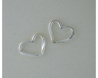 Heart Charms - Sterling Silver