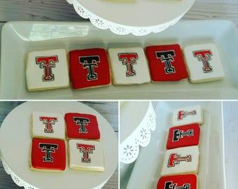 Texas Tech Cookies (One Dozen)