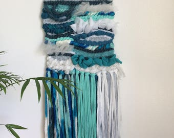 """Woven wall hanging """"Spray"""" XL"""