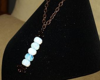 Five Alive Copper Necklace
