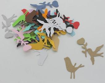 Birds : Die-cut cutting cardstock paper embellishment scrapbooking