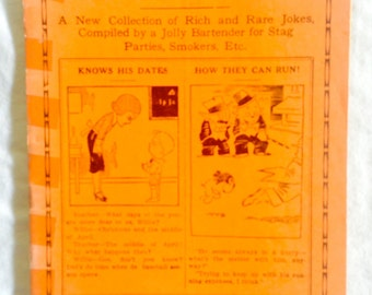 Rare-1941-Johnson Smith Booklet Snappy JOKES