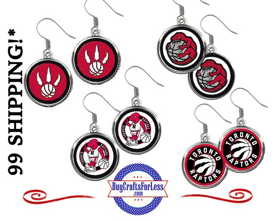 TORONTO Basketball EARRINGS, CHooSE Design - Super CUTE!  +FReE SHiPPiNG & Discounts*