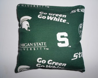 Michigan State Corn hole Bags